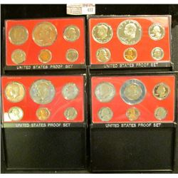 1975 S, 76 S, 77 S, & 79 S U.S. Proof Sets. Original as issued. CDN bid is $26.25.
