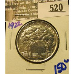 1922 Ulysses S Grant Commemorative Silver Half Dollar