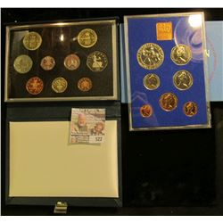 1977 And 1989 British Proof Sets