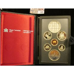 1984 Canadian Double Dollar Proof Set Minus The Silver Dollar