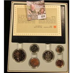 1984 Proof Canadian Coin Set