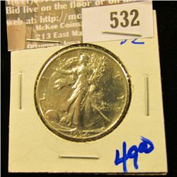 High Frade 1934 Walking Half Dollar