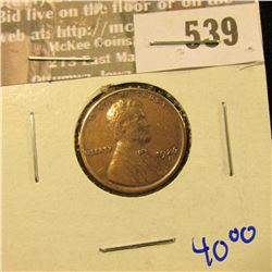 1926-S Better Date Date Wheat Cent