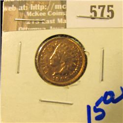 1906 Indian Head Cent With Full Liberty And Diamonds Visible