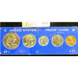 1961 Proof Set In A Capital Plastics Coin Holder