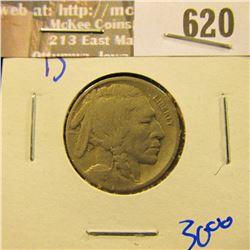 1916-D Buffalo Nickel
