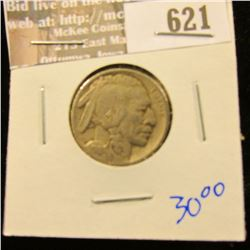 1915 Buffalo Nickel With Full Horn