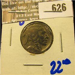 1924-D Better Date Buffalo Nickel
