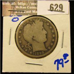 1898-O Barber Half Dollar