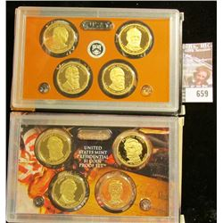 2010 And 2011 Proof Presidential Dollars