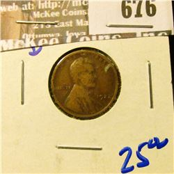 1922-D Semi Key Date Wheat Cent