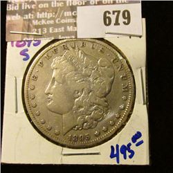 Key Date 1895-S Morgan Silver Dollar