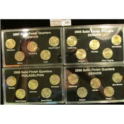 2007 Commemorative Quarters With Satin Finish, 2008 Commemorative Quarters With Satin Finish, 2006 C