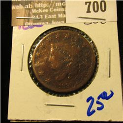1830 Large Cent