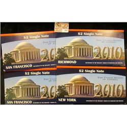 Series 2003A New York, Series 2003A Richmond, & (2) Series 2003 A San Francisco Crisp Uncirculated $