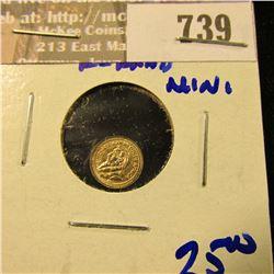 Mini Gold Kruggerand