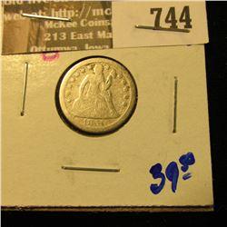 1850-O Seated Liberty Dime