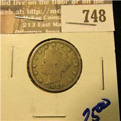 1897 Better Date V Nickel