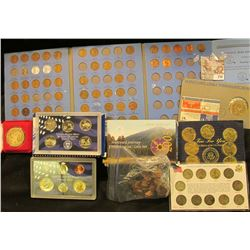 Coin Collection Lot Includes 2005 Westward Journey Nickel Series, Reader's Digest Presidential Medal