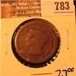 1849 Large Cent