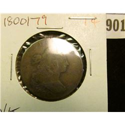 901 _ 1800/79 U.S. Large Cent, VG.