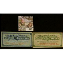 "942 _ Five & Ten Cent ""Our Profit-Sharing Coupons…Ranney & Scellars Cigar Stores Co….Cedar Rapids, I"