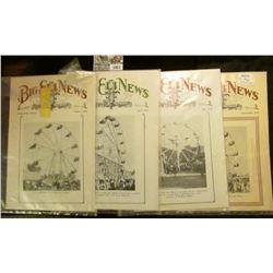 "1001 _ August,1928, April & May 1929, & September 1930 ""Big Eli News"" Jacksonville, Illinois. One of"