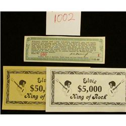 """1002 _ """"Walkill Stump and Land Clearing District"""" $15 Scrip """"Fifteen Dollars ($15.00) in Gold Coin o"""