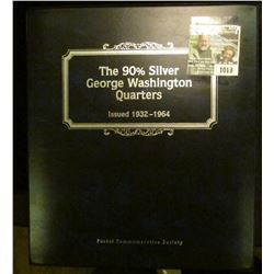 """1019 _ """"The 90% Silver George Washington Quarters Issued 1932-1964"""" issued by the """"Postal Commemorat"""