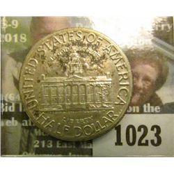 1023 _ 1846-1946 Iowa Centennial Commemorative Half. Nicely toned original Uncirculated.