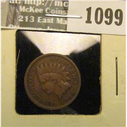 1099 _ 1908 S U.S. Indian Head Cent, Fine.