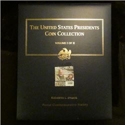 "1152 _ Postal Commemorative Society ""The United States Presidents Coin Collection Volume I of II"" in"