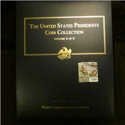 "1155 _ Postal Commemorative Society ""The United States Presidents Coin Collection Volume II of II"" i"