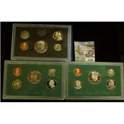 1233 _ 1972 S, 1994 S, & 1995 S U.S. Proof Sets. CDN Bid is $14.75