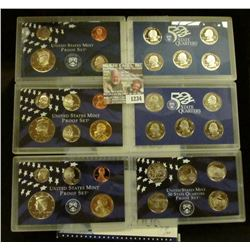 1234 _ 1999 S, 2005 S, & 2006 S U.S. Proof Sets. CDN Bid is $16.50