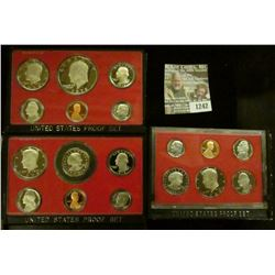 1242 _ 1978 S, 79 S, & 80 S Proof Sets. All original as issued. CDN bid is $15.25..