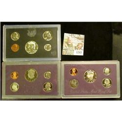 1243 _ 1970 S, 84 S, & 93 S Proof Sets. All original as issued. CDN bid is $17.20.