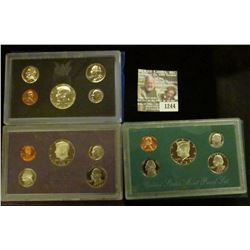 1244 _ 1970 S, 84 S, & 94 S Proof Sets. All original as issued. CDN bid is $19.20