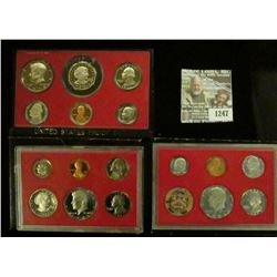 1247 _ 1979 S, 81 S & 82 S U.S. Proof Sets. All original as issued. Coin Dealer Newsletter Bid Price