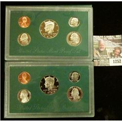1252 _ 1997 S, & 98 S U.S. Proof Sets. All original as issued. Coin Dealer Newsletter Bid Price is $