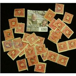 1282 _ Pack of (36) Two Cent Documentary Stamps.