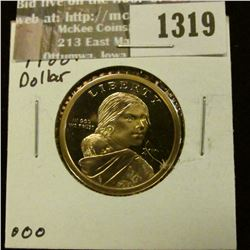 1319 _ 2002 S Native American Proof 65+ Dollar.