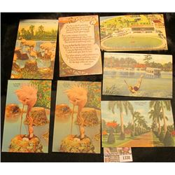 1338 _ Group of old Post & Postal Cards. Several unused.