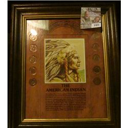 1421 _ The American Indian Indian Head Cent Picture Set