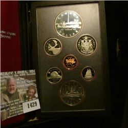 1429 _ 1984 Royal Canada Mint Double Dollar Proof Set with Toronto Silver Dollar & C.O.A.