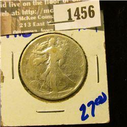 1456 _ 1918 P Walking Liberty Half Dollar