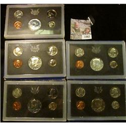 1462 _ 1968 S, 69 S, 70 S, 71 S, & 72 S U.S. Proof Sets. All in original boxes of issue.