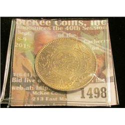 1498 _ AH1354 Saudi Arabia One Riyal, Y20. Silver. BU.
