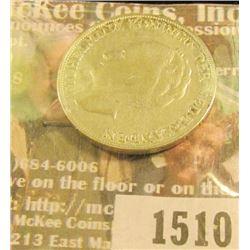 1510 _ 1944 Netherland silver One Gulden, VF.