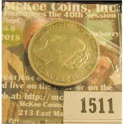 1511 _ 1923 Netherland silver One Gulden, EF.